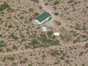 Green Witch House from the Air
