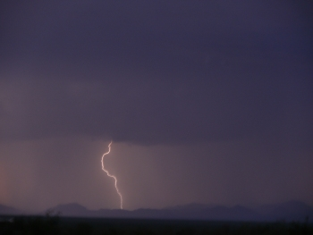 Lightning in the San Simon Valley