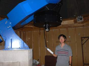 David Sung and his 20-inch RC